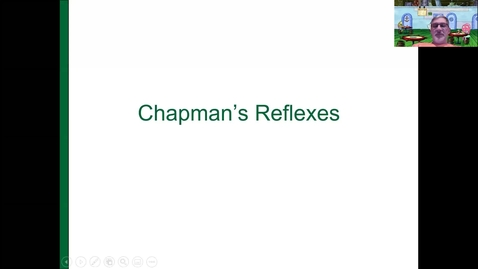 Thumbnail for entry Chapman's Reflex Points Lecture