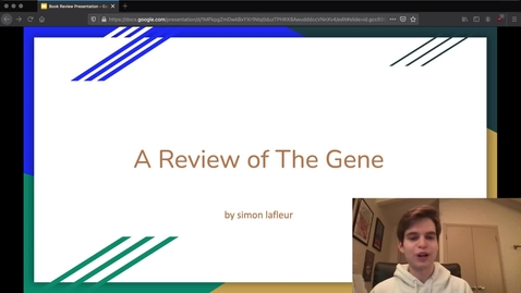 Thumbnail for entry The Gene Presentation