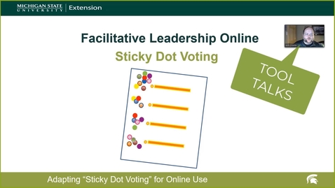 Thumbnail for entry Sticky Dot Voting-Facilitative Leadership Online
