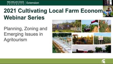 Thumbnail for entry CLFE Session 2 - Understanding Local Zoning, RTF, and Farm Market GAAMPS