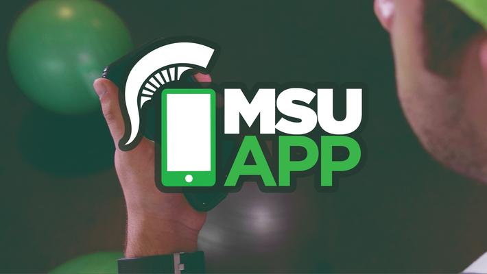 Find food on the MSU App