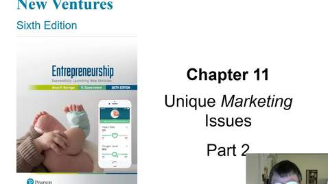Thumbnail for entry Chapter 11 Unique Marketing Issues Part 2