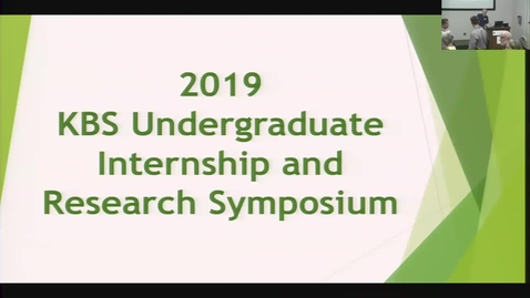 Thumbnail for entry KBS Summer Symposium 2019
