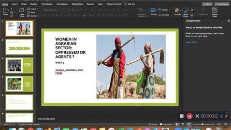 Thumbnail for entry Lecture8: Women, rural livelihood & ecofeminism - June 15th 2020, 12:48:03 am