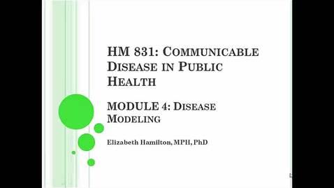 Thumbnail for entry HM831 Mod4Modeling