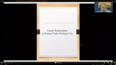 Thumbnail for entry Family Legal relationships as Defined Under Michigan Law