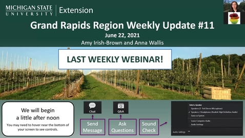 Thumbnail for entry Grand Rapids Region Weekly Update #11 June 23, 2021