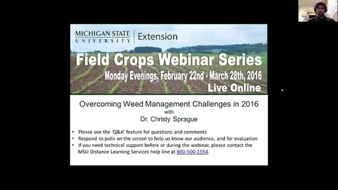 Thumbnail for entry Overcoming Weed Management Challenges in 2016