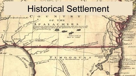 Thumbnail for entry GEO330: Coastal South: Historical Settlement