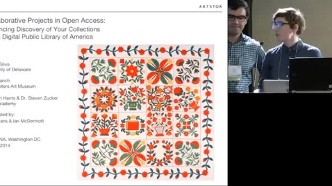 Thumbnail for entry Collaborative Projects in Open Access: Enhancing Discoverability of Your Collection via the Digital Public Library of America