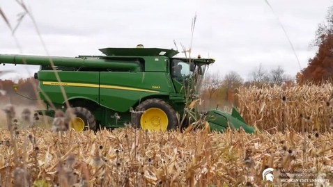 Thumbnail for entry Moments From the Field: Corn Harvest
