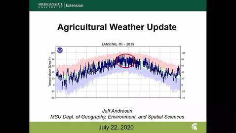 Thumbnail for entry Agricultural weather forecast for July 22, 2020