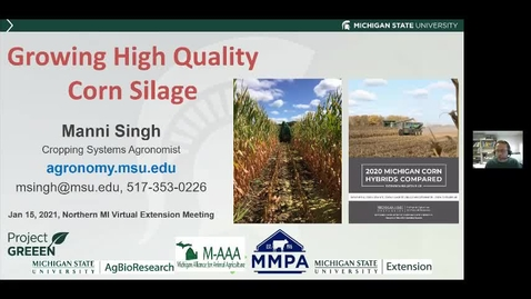 Thumbnail for entry Successful Corn Silage Production Dr. Manni Singh  Jan 15 2021