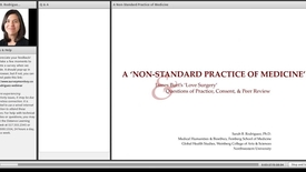 Thumbnail for entry A Non-Standard Practice of Medicine