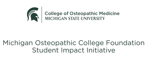 Thumbnail for entry MOCF Student Impact Initiative 2021