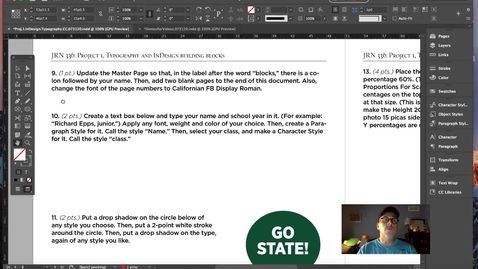 Thumbnail for entry InDesign and Typography Fundamentals.Vol.3