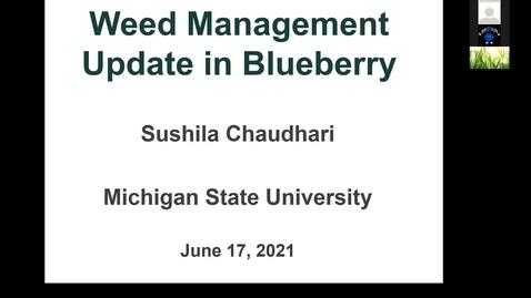 Thumbnail for entry Pre-Harvest Weed Mangement -- Sushila  Chauhari 2021