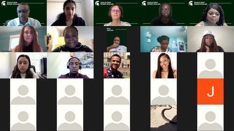 Thumbnail for entry Drew Scholars Welcome Program for Incoming Class of 2021 Students