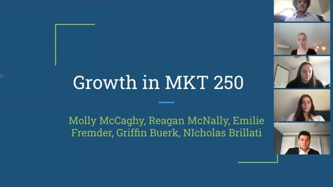 Thumbnail for entry Growth in MKT 250