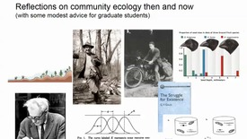 Thumbnail for entry Reflections on community ecology then and now