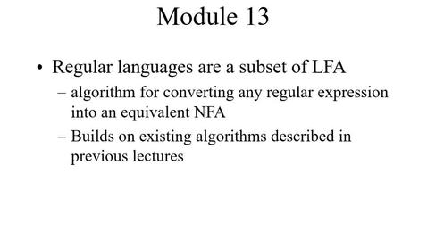 Thumbnail for entry Module13-RegExpstoNFA