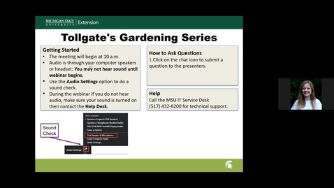 Thumbnail for entry MSU Tollgate Farm HomeGrown Gardening Series Session #4 Growing Fun: Vegetable Gardening with Kids May 8, 2021