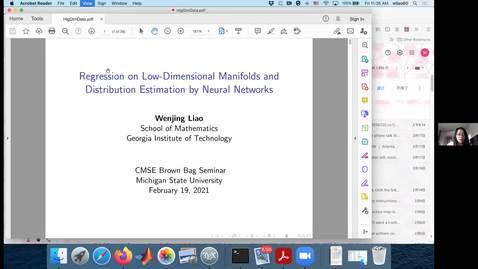 Thumbnail for entry CMSE_BrownBag_Seminar_WenjingLiao_Feb192021