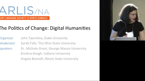 Thumbnail for entry The Politics of Change: Digital Humanities
