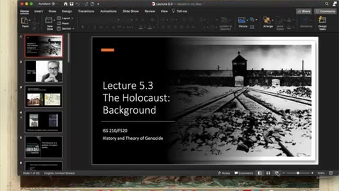 Thumbnail for entry Lecture 5.3 - Part 1