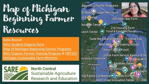 Thumbnail for entry Map of Beginning Farmer Resources