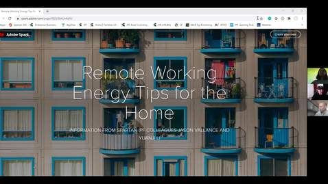 Thumbnail for entry IPF Home Improvement Series: Remote Working Energy Tips for the Home
