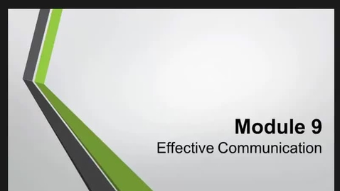 Thumbnail for entry HM859Mod9EffectiveCommunication