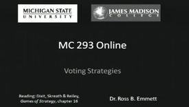 Thumbnail for entry Voting Strategies