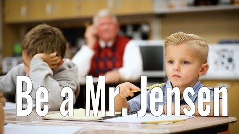 Thumbnail for entry Inspirational Video- Be a Mr. Jensen- MUST WATCH!!