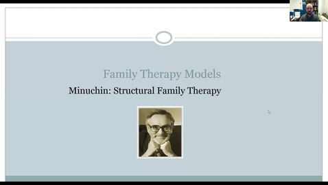 Thumbnail for entry Minuchin - Structural Therapy