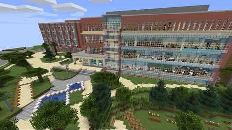 Thumbnail for entry MSU Libraries Minecraft Virtual Tour