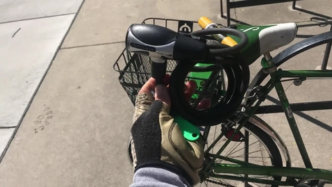 Thumbnail for entry Locking your bike right on the MSU campus - Pt 2