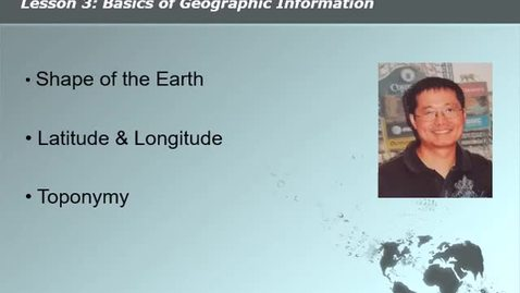 Thumbnail for entry onGEO N001 Lesson 3 Video