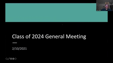 Thumbnail for entry 02.10.2020 Class of 2024 General Meeting (Public Link)