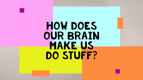 Thumbnail for entry How Does Our Brain Make Us Do Stuff?