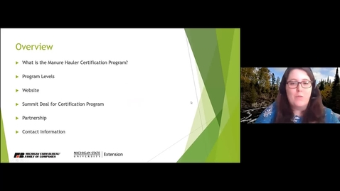Thumbnail for entry Overview of the Certification Program
