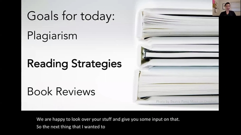Thumbnail for entry Lecture 2-Part 2_Reading Strategies