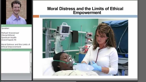 Thumbnail for entry Moral Distress and the Limits of Ethical Empowerment