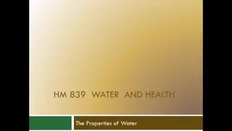 Thumbnail for entry HM839WaterProperties