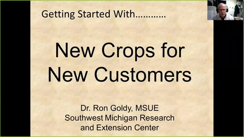 Thumbnail for entry New crops for new customers