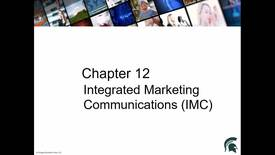 Thumbnail for entry Chapter 12 Integrative Marketing Communication
