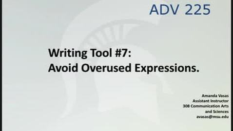 Thumbnail for entry ADV225Session4WritingTool7_Video4of9