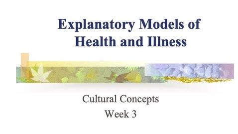 Thumbnail for entry Module 3 Explanatory models