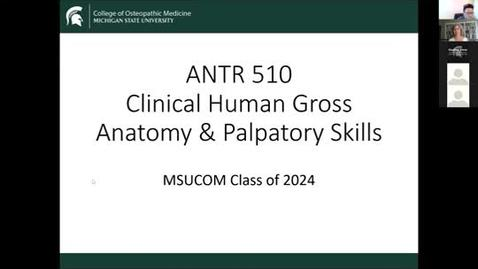 Thumbnail for entry ANTR510 Introduction to & Anatomy Resources 6.15.2020