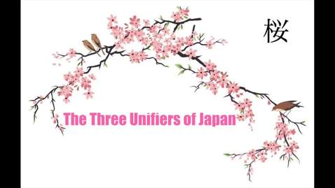 Thumbnail for entry Three Unifiers of Japan (Michael Varley)